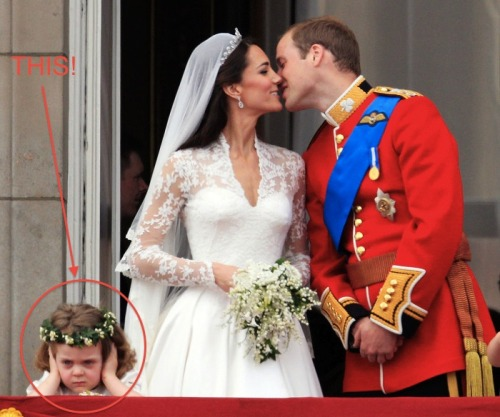 Tumblr, here's your representative at the royal wedding! [AP Photo/Matt Dunham]