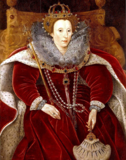 Queen Elizabeth I, attributed to Marcus Gheeraerts the Younger, ca 1585-90