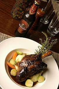 Beer Braised Lamb Shank From Draft Magazine. Click Shank for Recipe.