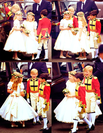 They are so darn adorable. <3 I love how the blonde boy is always laughing.