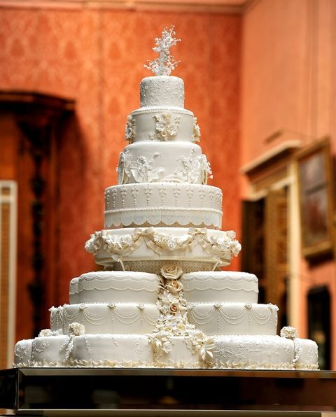 beautifulweddings:  The Royal Wedding Cake