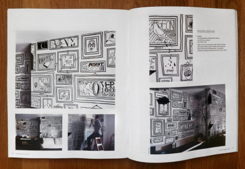 Congratulations to Timothy Goodman, a talented fellow introduced to us by the Art Director's Club — his mural in room 910 at Ace Hotel New York was given a full spread in the most recent issue o