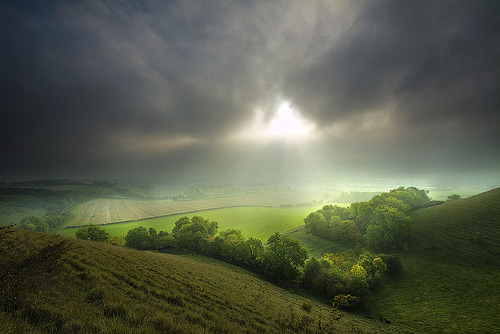 allthingseurope:  Wiltshire, England (by paul.scott103)   When I look at the photo… it looks like it's moving.