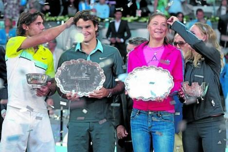 I'm excited for Madrid.  It's the only clay tournament I like.  It gave us this moment.