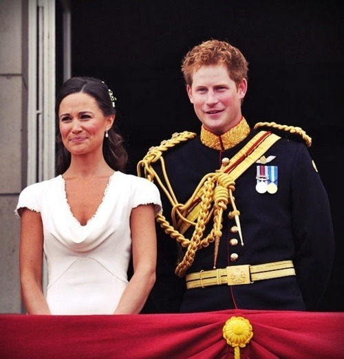 waveofeuphoria:  Pippa Middleton and Prince Harry.