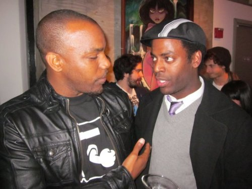 Greg Edwards and Baron Vaughn by. Leslie Winchester  [Well Dressed Black Man Club, Bay Area Chapter]