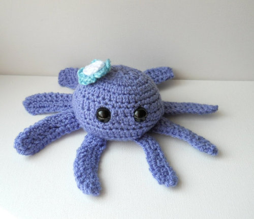 Woolly. Tentacled. About the crack open your skull and eat your brains. Fact. via knitwhit