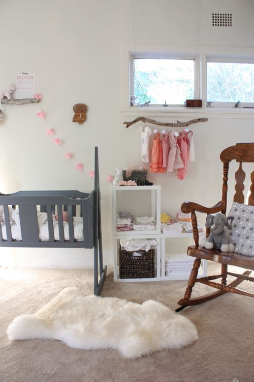 another darling little girls room by The Happy Home
