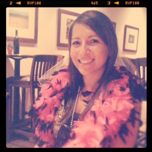 Asha's bachelorette.  (Taken with instagram)