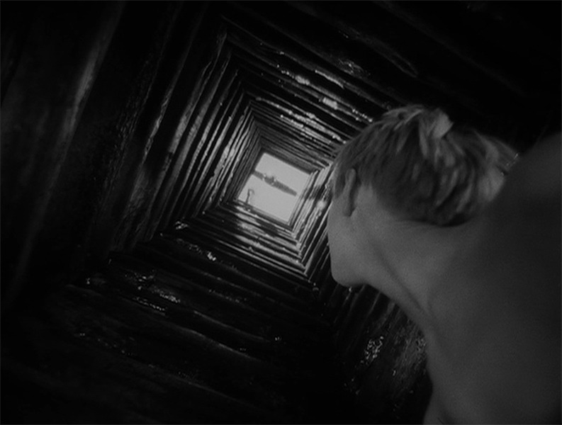 "dlpalinckx:  From the film ""Ivan's Childhood"". Directed by Andrey Tarkovskiy. (I was taking photographs all the time, while I watched this film with Sylber today)"