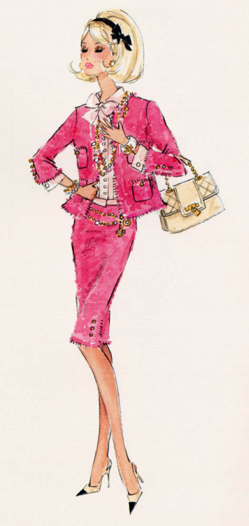 """Preferably Pink"" Barbie design by Robert Best"