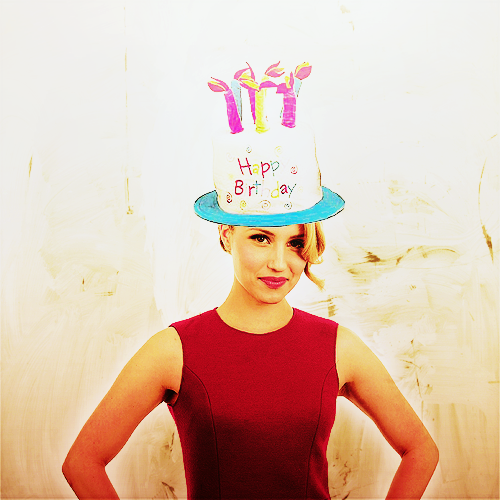 Happy 25th birthday, Dianna Agron. ♥
