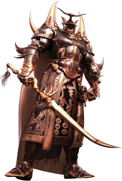 [Picture: Exdeath from Dissidia, looking generally intimidating in his spiky armor and helm that doesn't show his face.]
