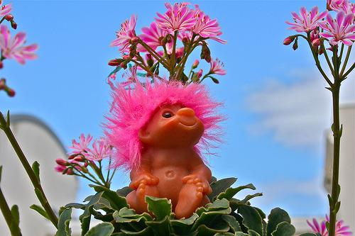 kutekat:  LITTLE PINK TROLL BABY (by toypincher)