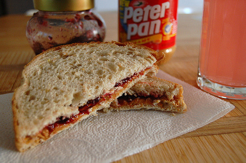 #foodporn Got to love the good ol classic pb & j