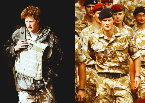 Prince Harry!  A man in uniform… A prince in uniform… Prince Harry in uniform! I… Can… No longer speak….  he is so a MAN!!!