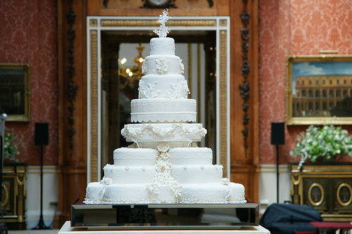 The Royal Wedding Cake (by The British Monarchy)