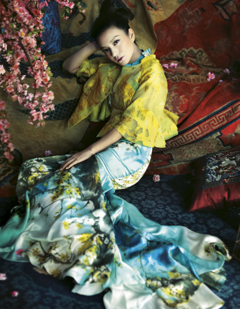 fashionisnotlife:  Zhao Wei by Feng Hai for Harper's Bazaar China January 2011