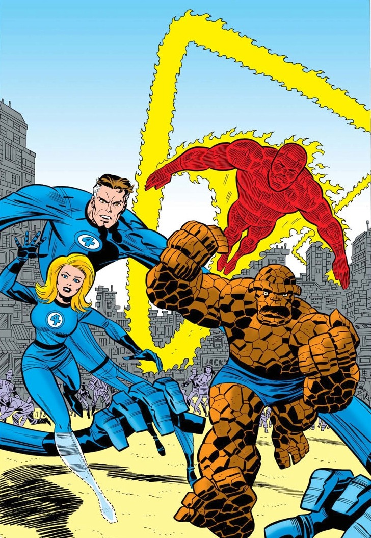 Fantastic Four: The World's Greatest Comics Magazine by Erik Larsen & Bruce Timm