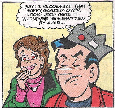 Jughead's pencil thin mustache is really making an impact on the ladies.
