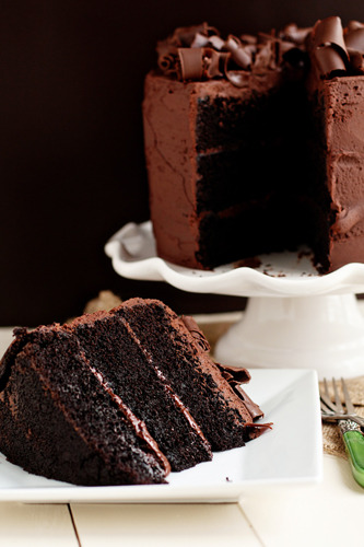 gastrogirl:  chocolate stout layer cake.