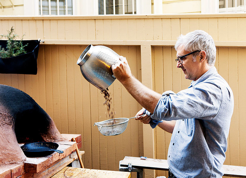 Nice piece on James the founder of  Blue Bottle.