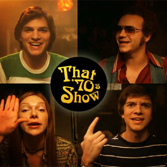 Steven, Donna, Eric, Michael / That 70's Show cast - The Joker