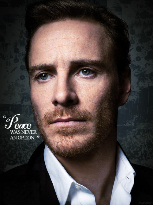 "Michael Fassbender as ""Magneto"""