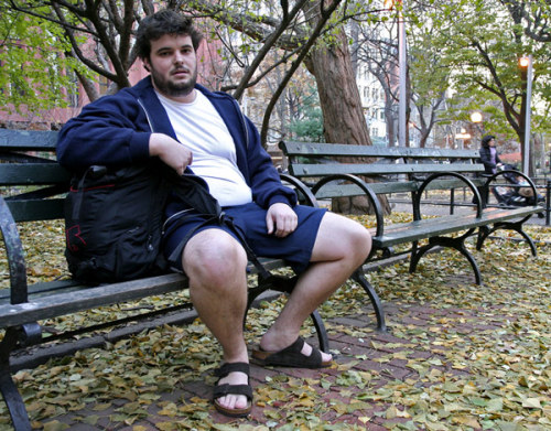 "Overweight College Student Announces Plans To Wear Shorts, Sandals For Rest Of Year ""I always hated when my mom made me wear shoes and pants in high  school,"" Norton said. ""Now that I am in college I am free to wear  whatever I want, whenever I want. For the first time in my life, I don't  feel so constricted."""