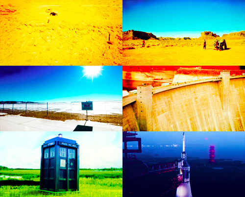 The Awesome Locations of Day of the Moon (watch the Doctor Who in America special for more.)