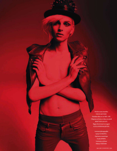 Andrej Pejic L'Officiel Paris Mai 2011 (9)