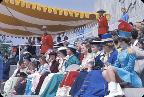 Canada Day ceremony at Expo 67