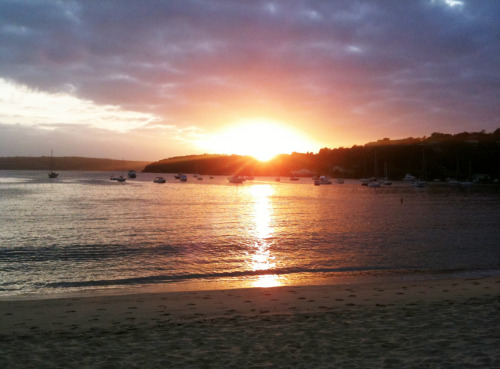 Sunrise. Balmoral Beach, Sydney.