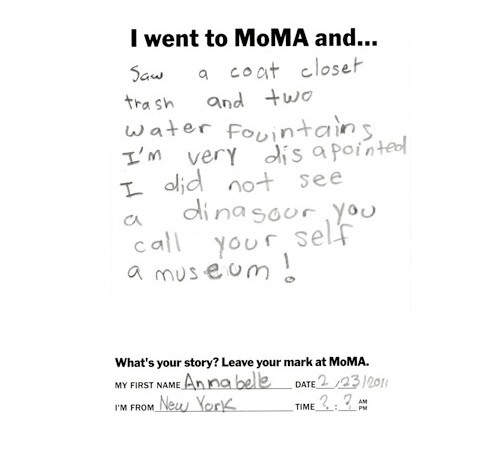 (via handmade charlotte :: Little Girl's Thoughts On Modern Art :: design for kids and the home)