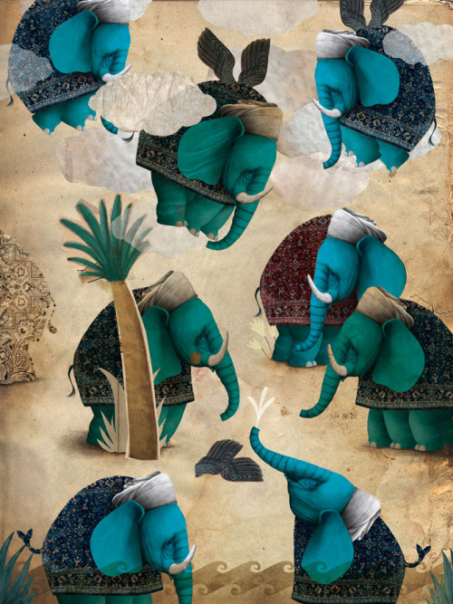 "©Sarmede Gabriel Pacheco - The flying elephants (Orissa-India)""Once upon a time, the whole sky was criss-crossed by flying elephants..""Tale told by Luigi Dal Cin"