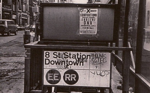 neighborhoodr-eastvillage:  getbackvassifer:  Broadway & 8th  Here's an old Subway System Map from 1968 showing some of the double letter local lines. And one from 1972. More historical NYC Subway Maps here.