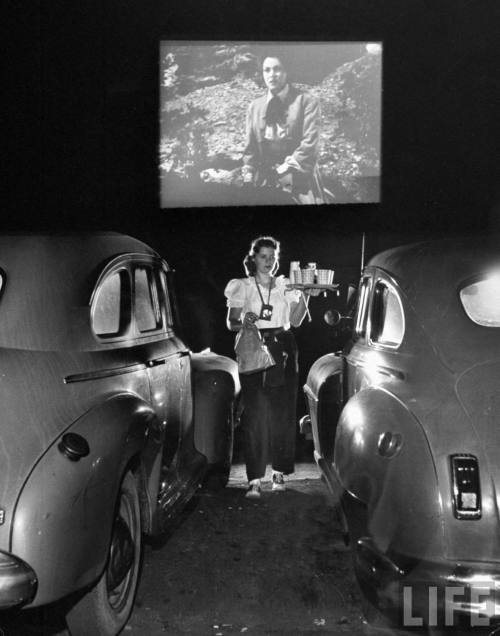 forties-fifties-sixties-love:  Drive In Waitress 1948