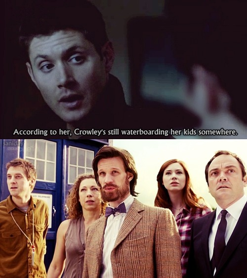 When TV Shows collide [Supernatural/Doctor Who]