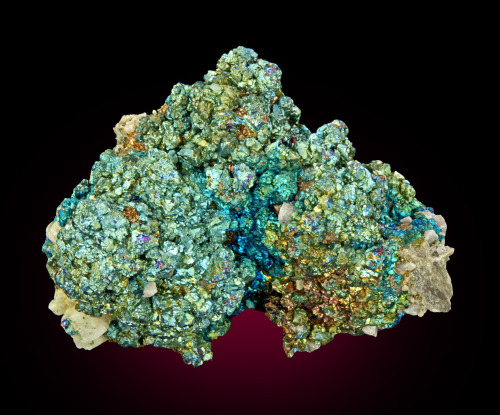 Chalcopyrite with Dolomite from Missouri