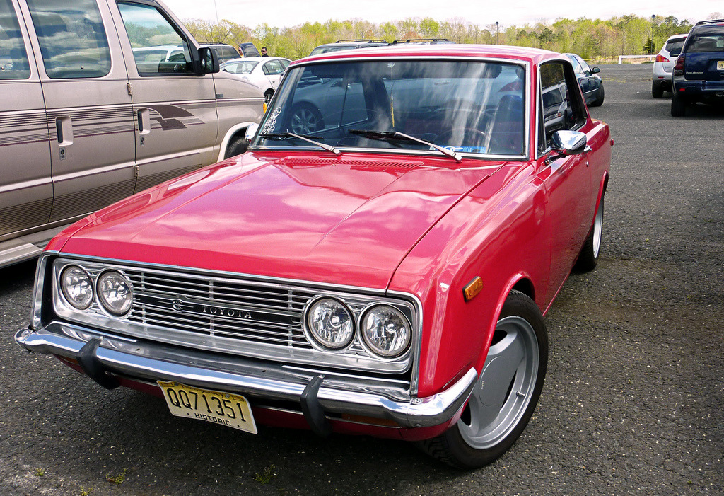 Spectator by Motoriginal Toyota Corona Hardtop Coupe MKIII at Raceway Park in New Jersey