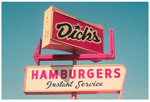 Dick's! We stopped here after prom. Yes we did. (Seattle, WA)