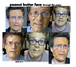 why, hello peanut butter face.