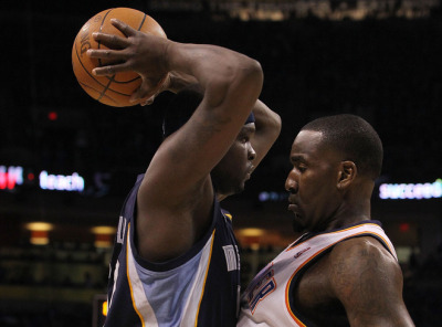 nbaoffseason:  Up close and personal with Zach Randolph and Kendrick Perkins  GET SOMEEEE