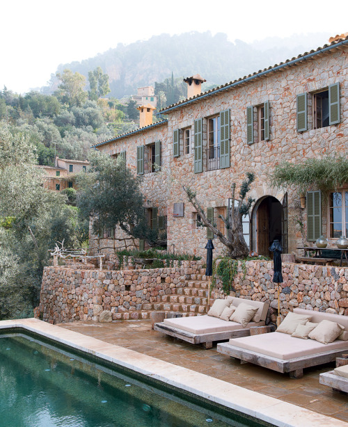prettystuff:  ysvoice:| ♕ |  Majorca village retreat  | by Tmagazine/NYTimes | via notmybeautifulhome  in my women and culture first-year english class, we read a few poems from the lais of marie de france by marie de france. we didn't read all of them, so over winter break and this summer i decided to finish reading these short french medieval romance tales. it was intriguing to read how the characters dealt with love and relationship issues centuries ago. the courtly love stories range from fairytale-like to comical to the hard truth.