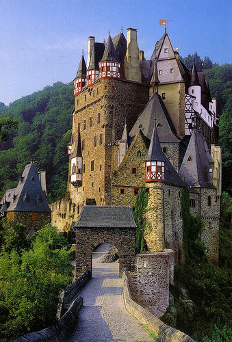 sunsurfer:  Castle Burg Eltz, Germany  photo by lguillotte  Another castle to add to the list, my love! :)