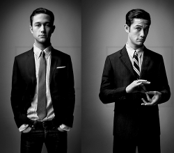 Unf. I love when guys dress all snazzy. Oh and hey, it's JGL <3