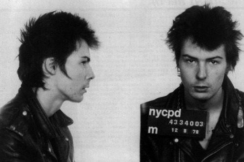 Sid Vicious   Date:  December 8, 1978 Location:  New York City, New York Crime:  Assault   Vicious, best known as the bassist of the punk rock group, Sex Pistols, was charged with assault after an altercation with Todd Smith (Patti Smith's brother) at a Skafish concert.  A little over a year later Vicious would be dead of a heroin overdose.   Sid Vicious