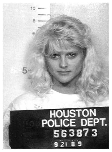 Anna Nicole Smith   Date:  September 21, 1989 Location:  Houston, Texas Crime:  DUI   Smith was arrested for driving under the influence of alcohol.   Anna Nicole Smith