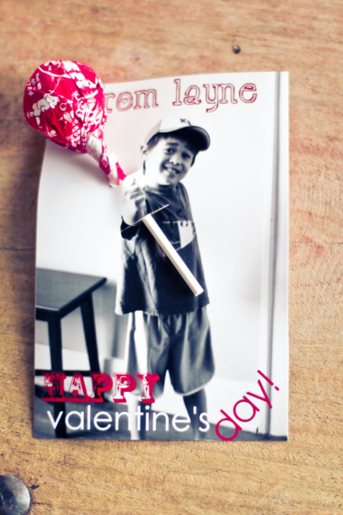 fun kids' valentine idea