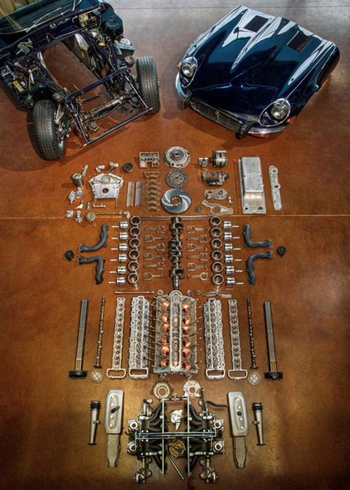 1971 Jaguar E-Type engine